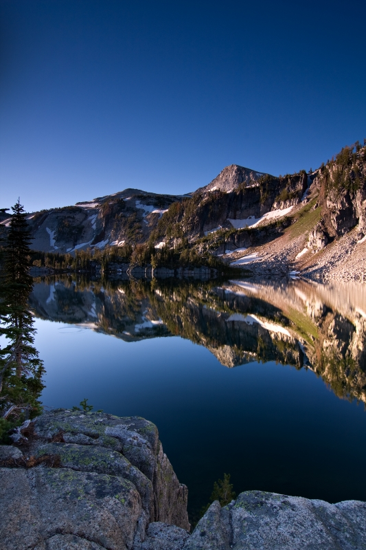 Eagle Cap From Mirror Lake