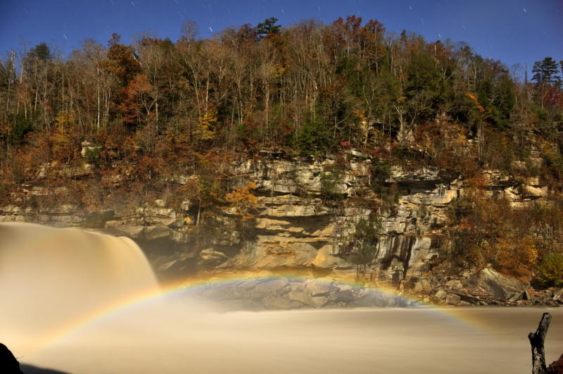 Moonbow At Cumberland Falls 2009