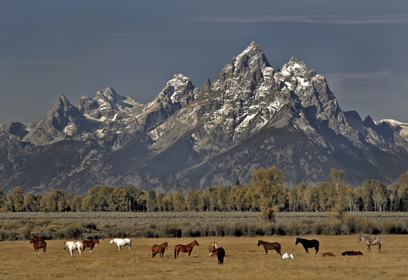 The Grand Teton Mountains