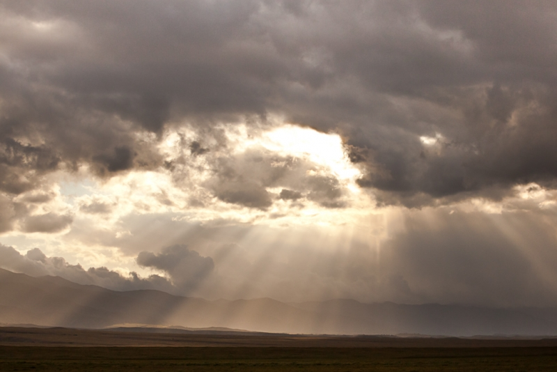 Spring Storm, Southern Carrizo Plain