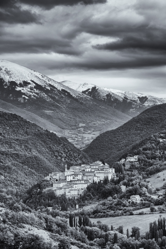 Preci Nestled In The Valley