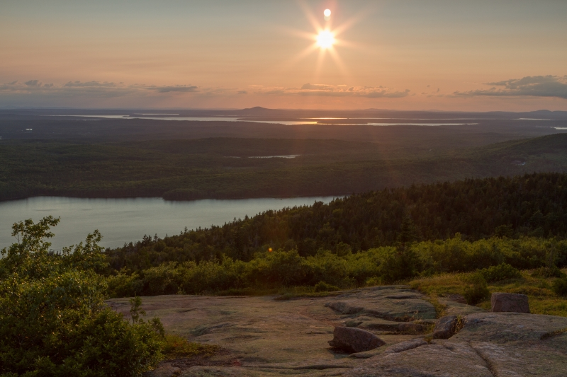Almost Sunset From Cadillac Mountain