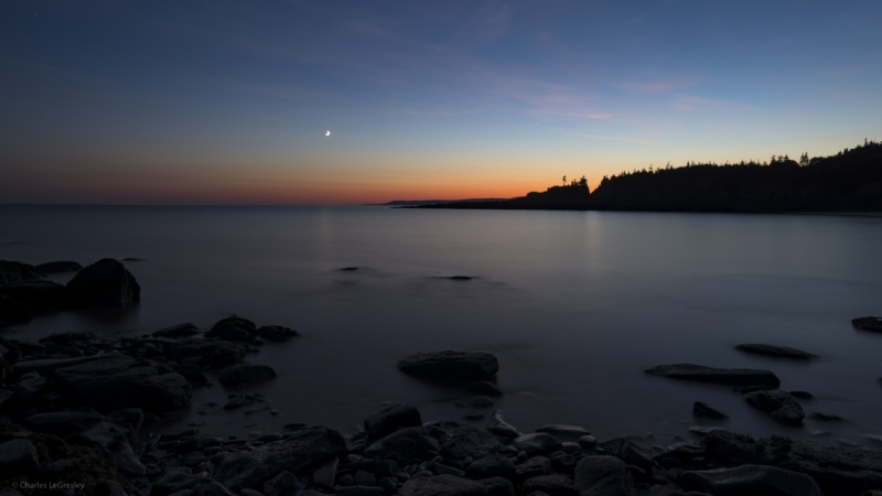 Sunset At Cape Enrage