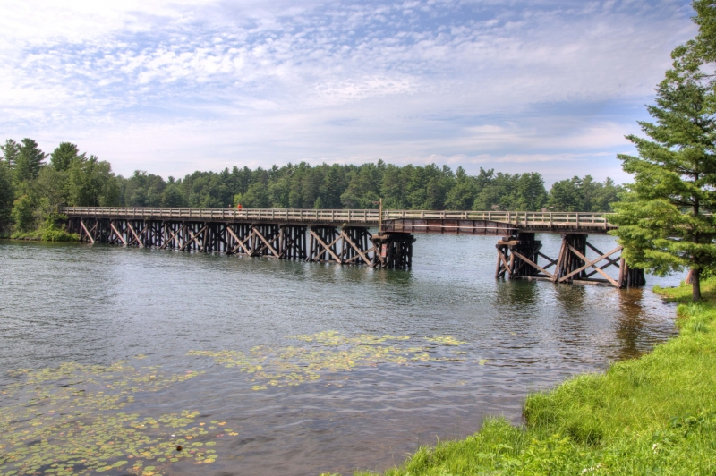 Trestle Over Lake Minocqua