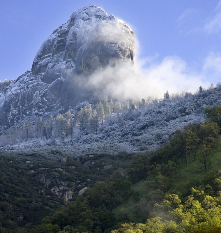 Moro Rock, Sequoia National Park.
