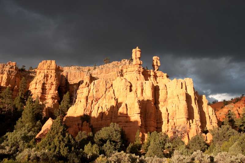 Late Afternoon Near Bryce Canyon
