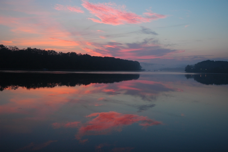 Connecticut River At Sun Rise
