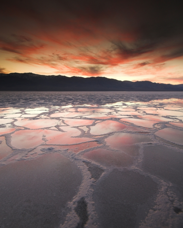 Badwater Sunset, Death Valley