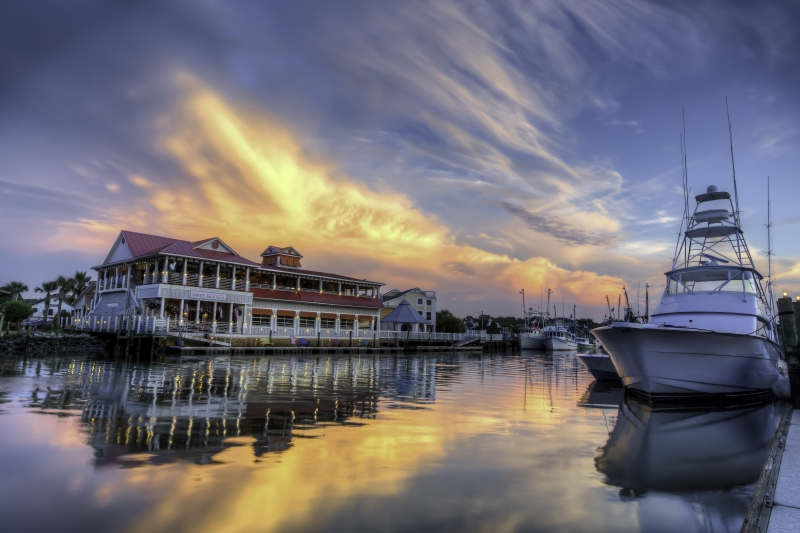 Sunset On Shem Creek