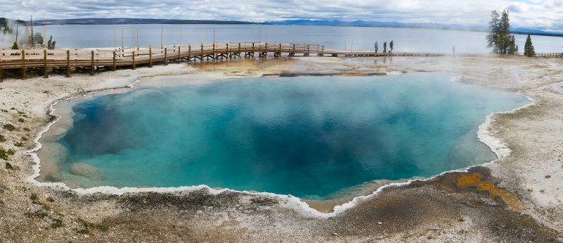 Black Pool – West Thumb Geyser Basin