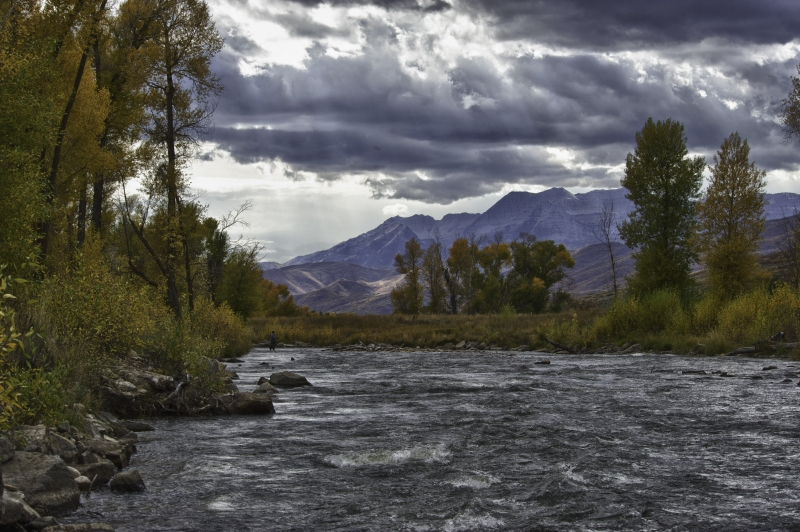 Fisherman On The Provo