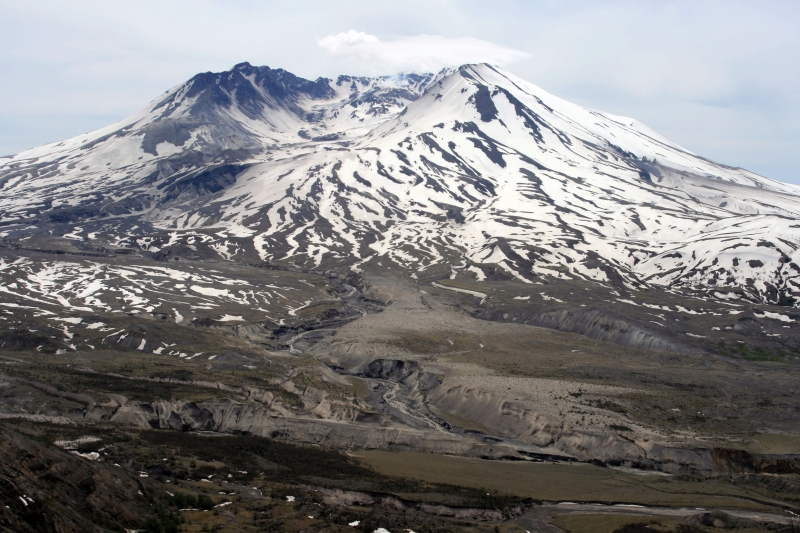 Mt St Helens On Ice