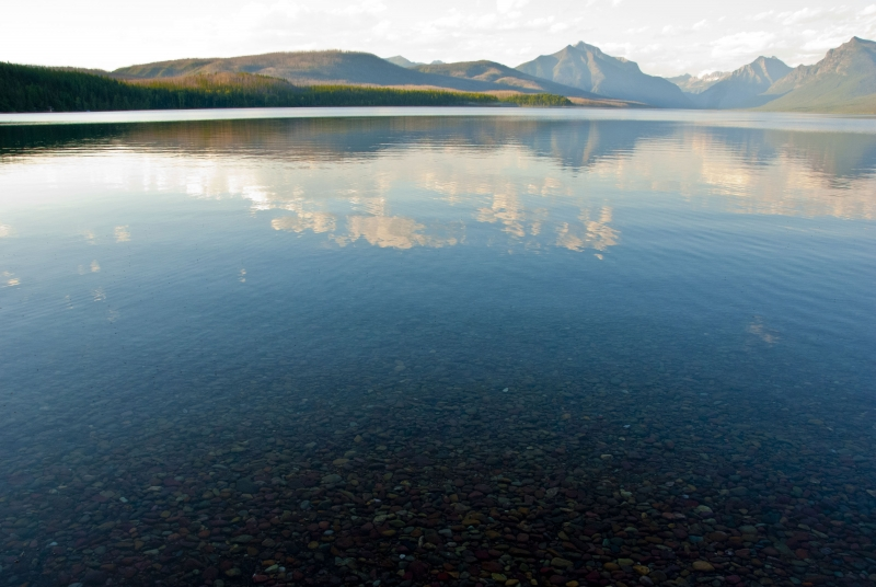 Crystal Clear Lake Mcdonald