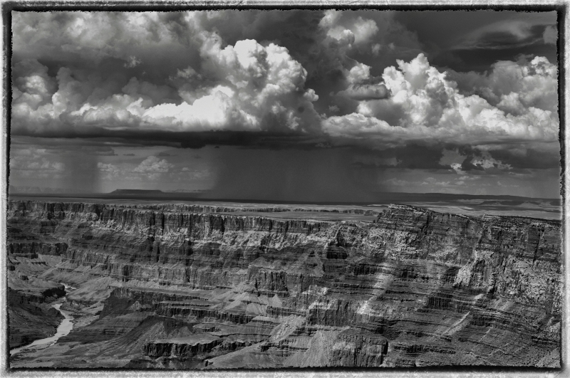 Thunderstorms Over Grand Canyon