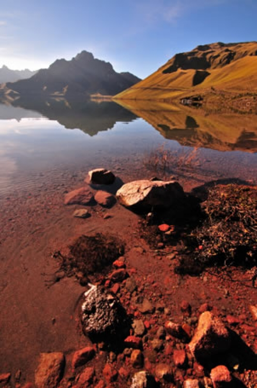 Mojanda Crater Lake