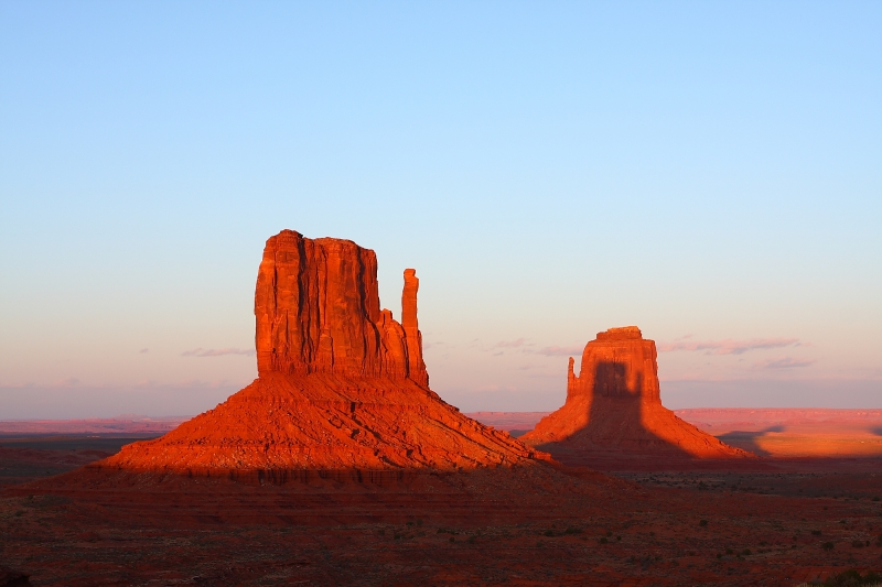 Monument Valley Mitten Shadow