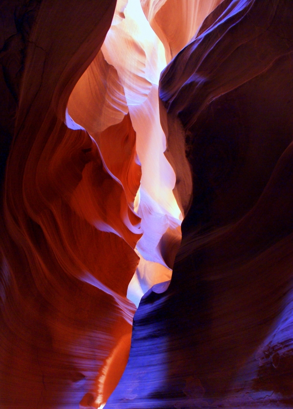 Slot Canyon Colors