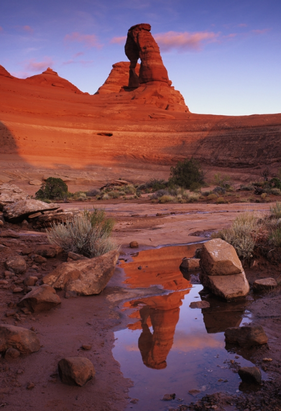 Delicate Arch Reflection