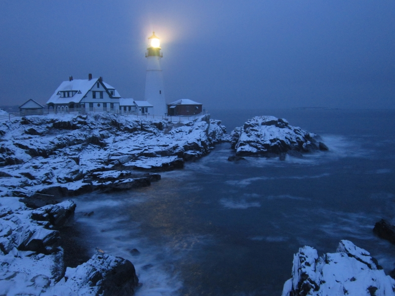 Foggy Morning At Portland Head Light