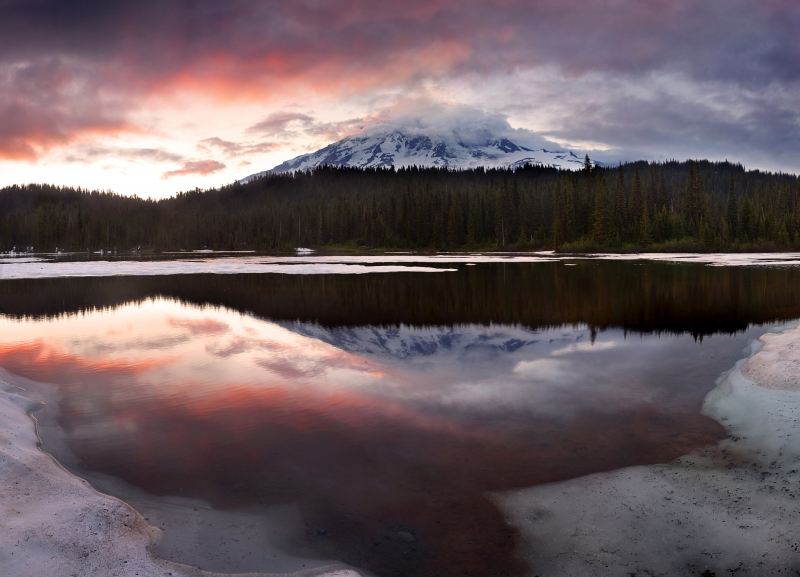 Reflection Lake Sunset