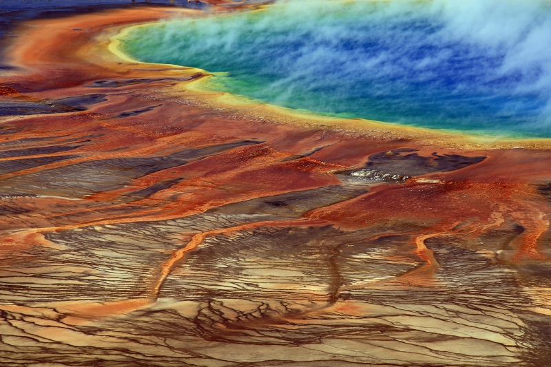 Grand Prismatic Close-up