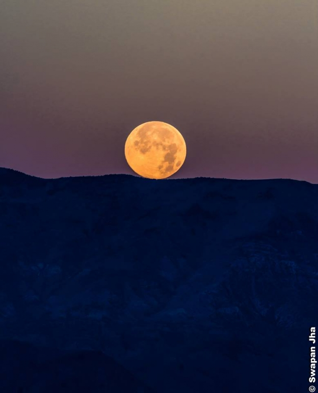 Supermoon 2013 – Death Valley, California