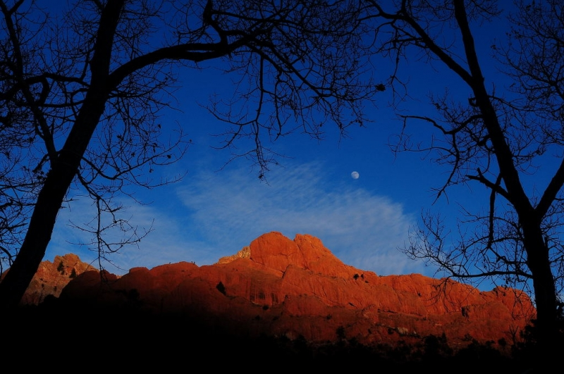 Sleeping Indian Moonrise
