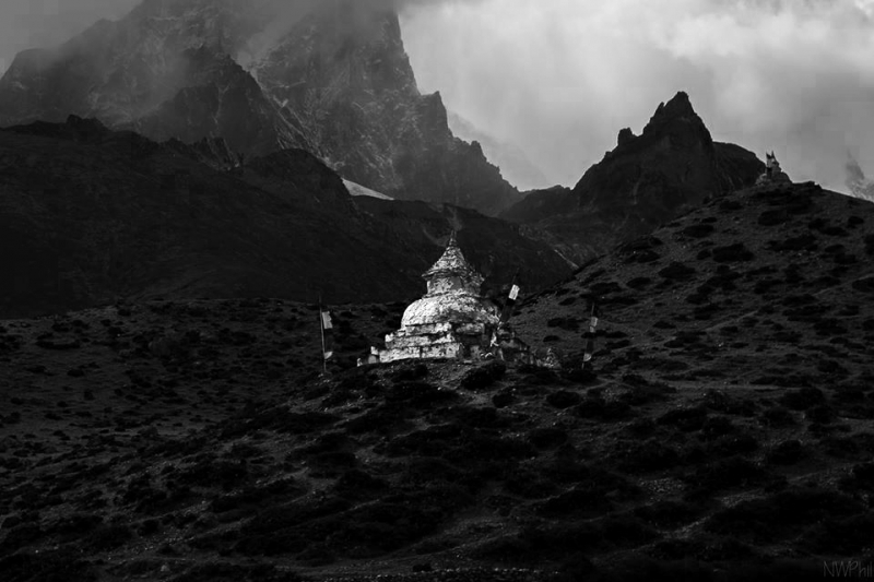 Stupa, Somewhere In Nepal (everest)