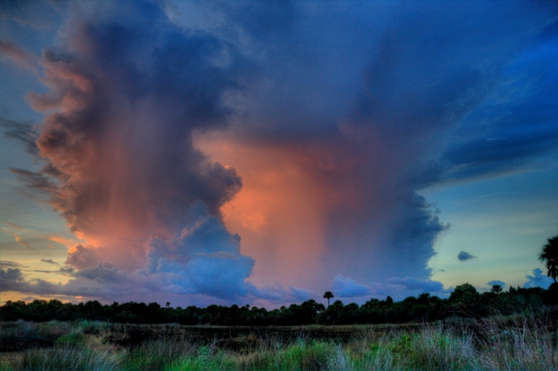 Hdr Florida Thunderstorm