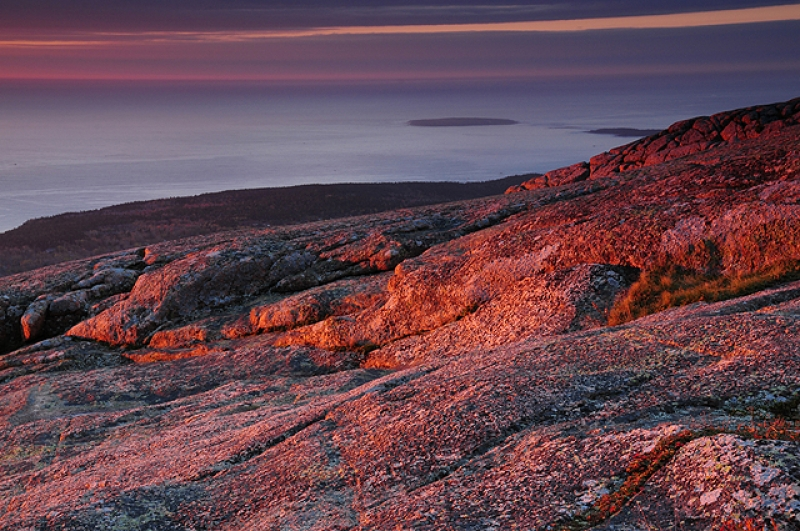 Sunrise On Cadillac Mountain