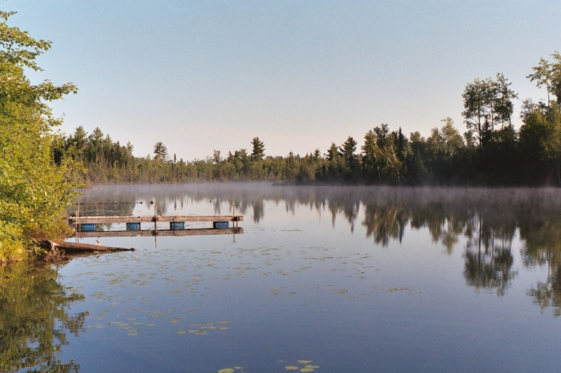 Morning On The Lake In Northern Wisconsin