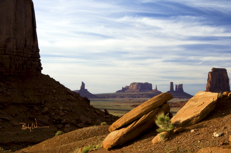 View From The North Window – Monument Valley