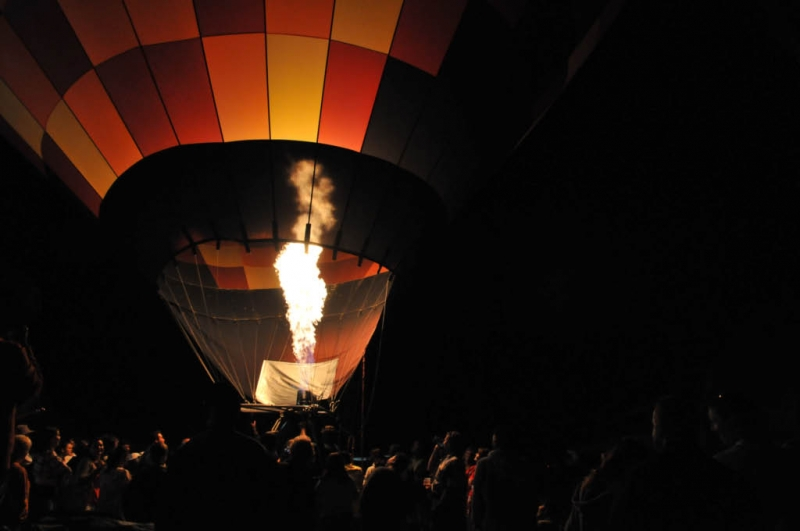 Evening Glow , Temecula Balloon Festival