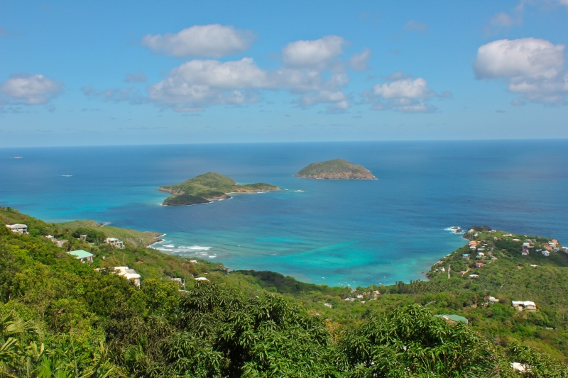 Beautiful St Thomas And Surrounding Islands