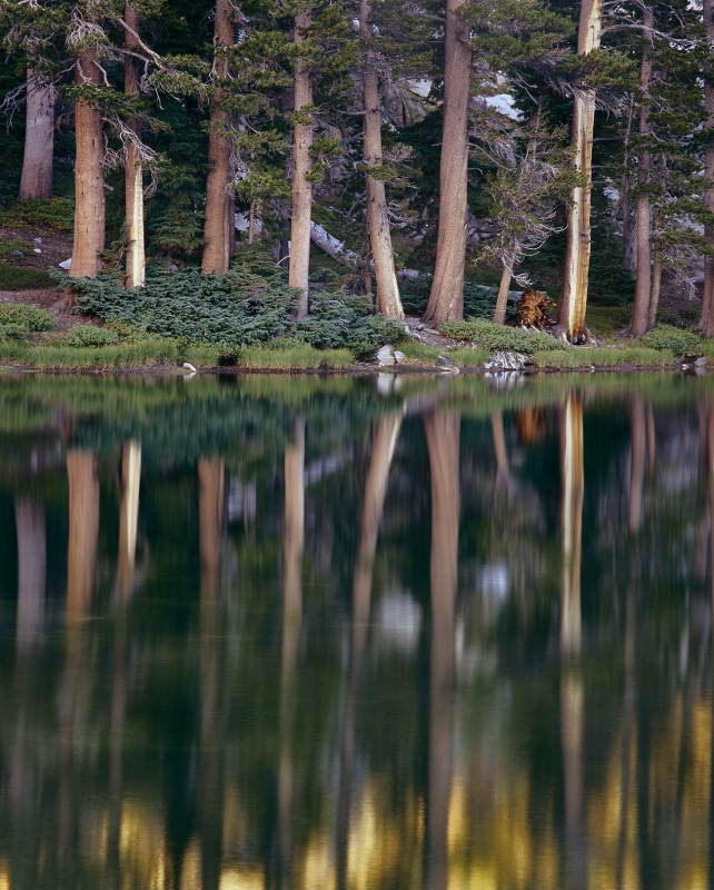 Mirror Reflection, Ten Lakes