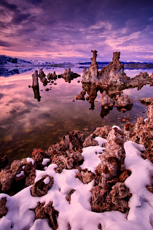 Twilight, Mono Lake, California