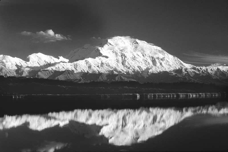Mount Mckinley And Reflection Pond, Denali National Park