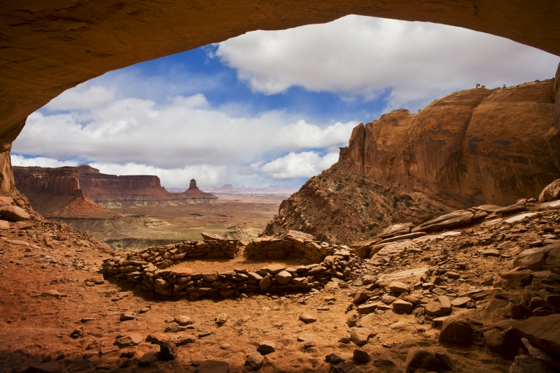 False Kiva, Canyonlands