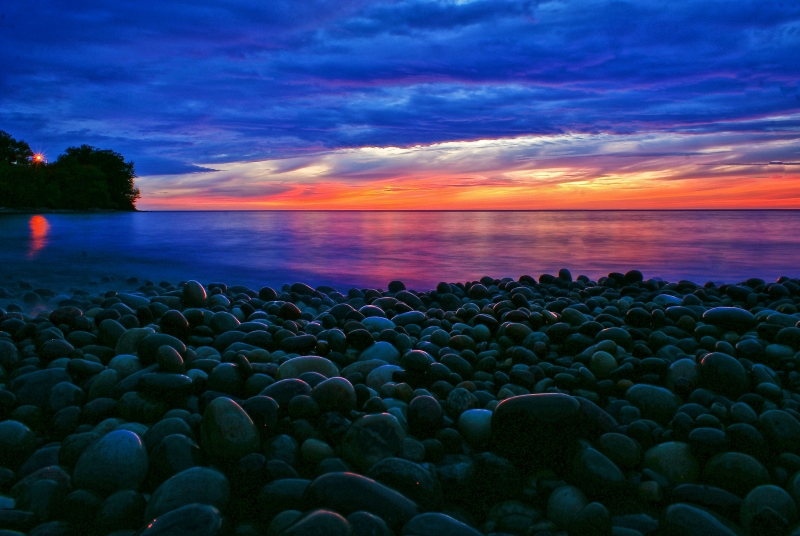 Blue Hour On Lake Ontario