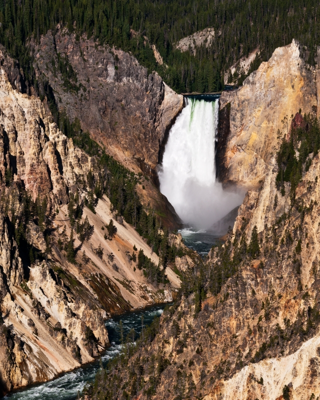 The Lower Falls From Artist Point