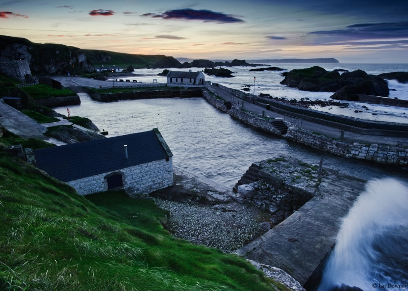 Eventide At Ballintoy Harbour