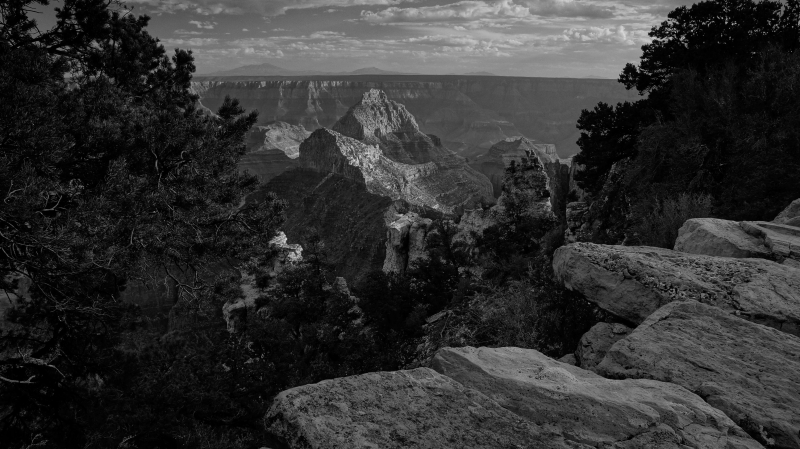 Walhalla Overlook, North Rim Grand Canyon