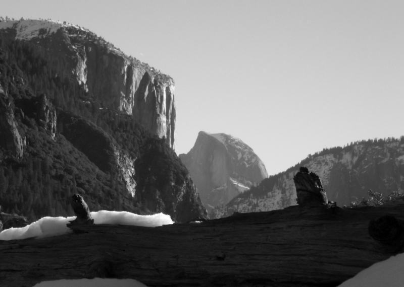 Different View Of Half Dome