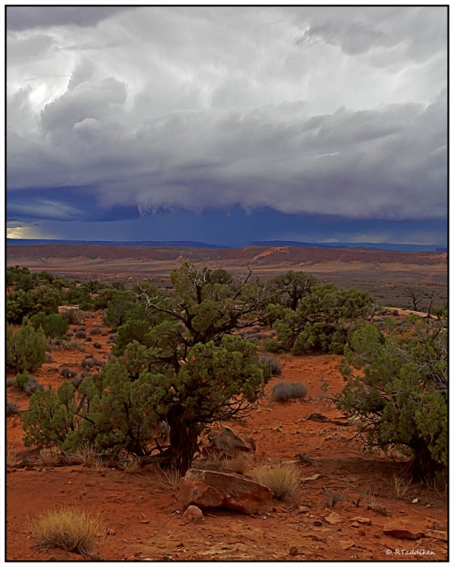 Wall Cloud In Arches