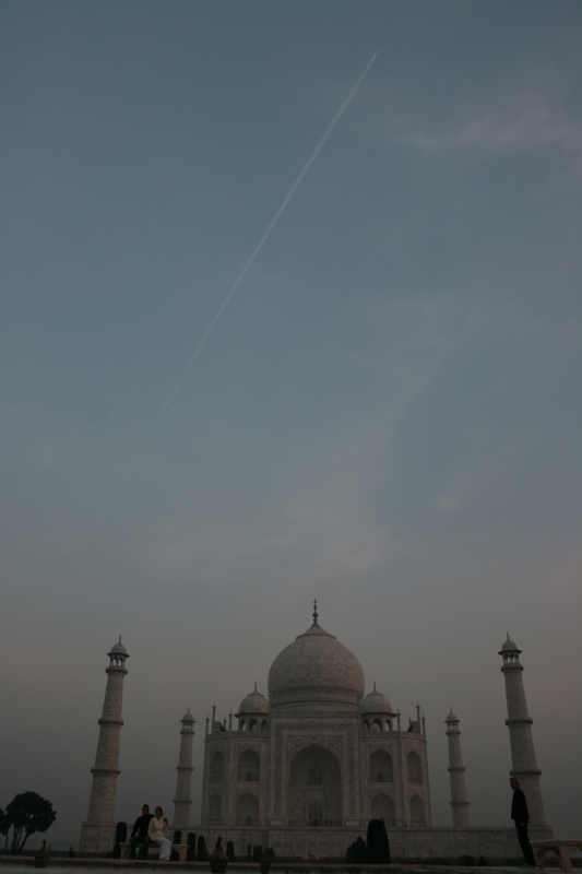 Taj At Dawn