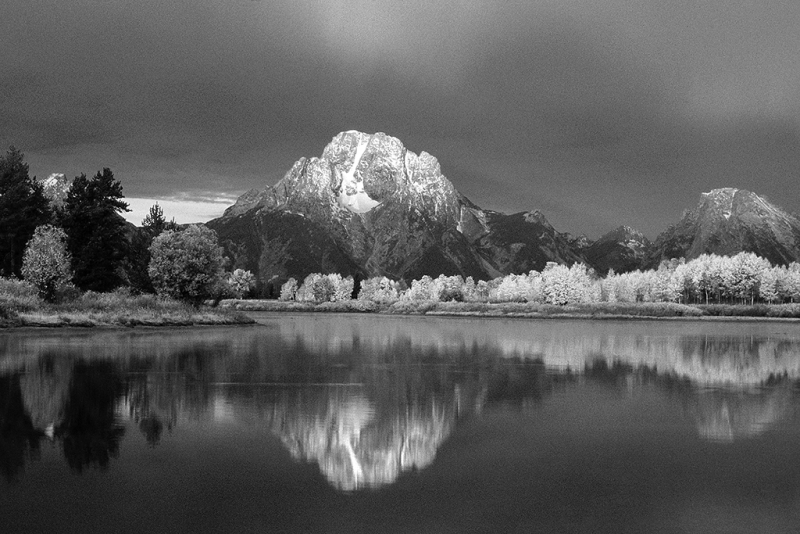 Morning Light, Mount Moran, Grand Teton National Park