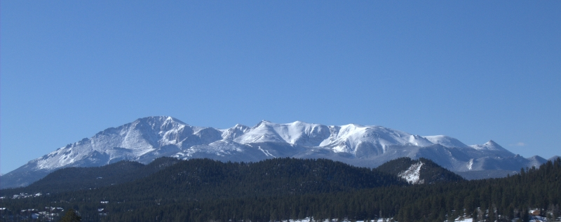 Pikes Peak Panorama