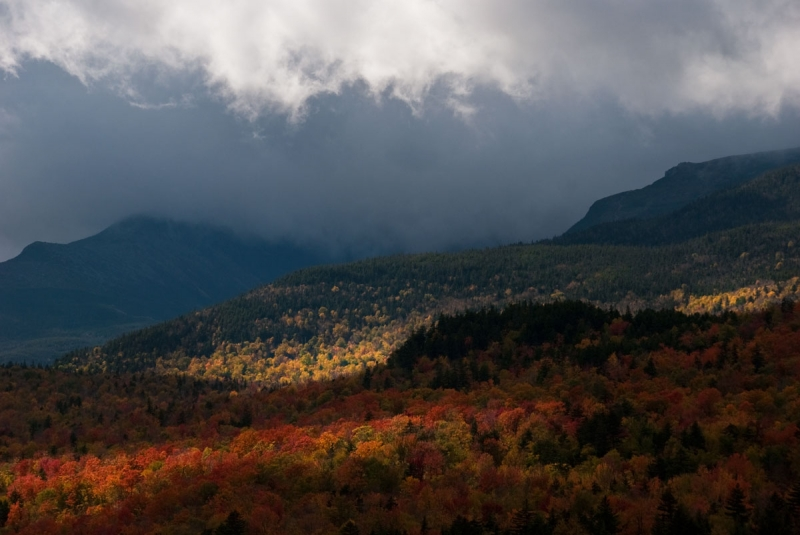 Clearing Storm Near Mt Washington, Nh