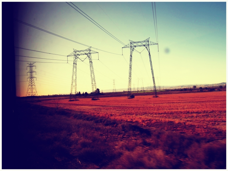 Middle Of Nowhere Power Lines