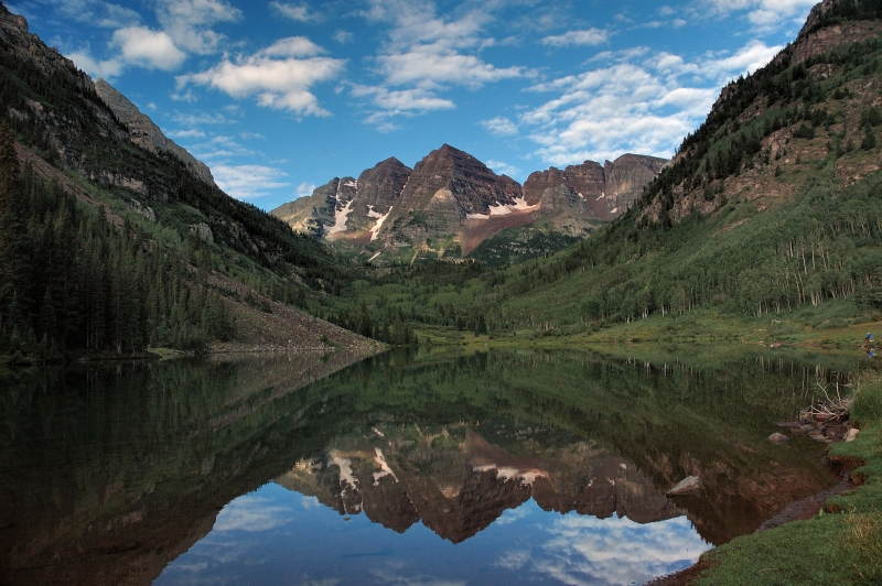 Lake At Maroon Bells
